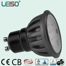 Projecteur à LED à 5W / 7W couleur noire avec TUV GS