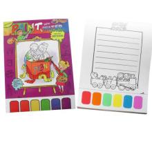 Kinder füllen Buch Wasser Malerei Färbung druckbare Buch