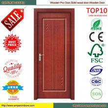 Contemporary Wood Glass Door Design