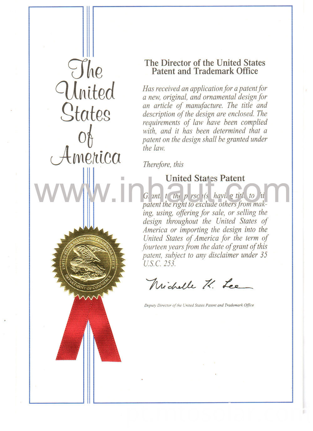 Patent of lubricant cleaning sheet