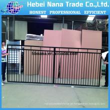 Usado Esgrima para Venda / Modelos de Gates Iron Fence / Painéis de Cerca de Ferro Forjado baratos para Venda