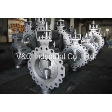 Lug Type Butterfly Valve with Worm Gear Box