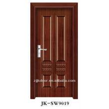 Porta de madeira de madeira de luxo