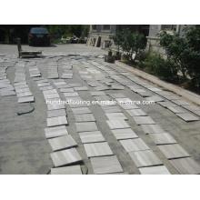 Китай Серый Вуд Вены Мрамор для плитки для стен и пола