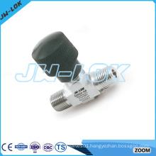 SS one piece autoclave needle valve