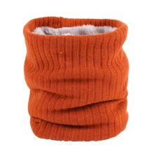 Custom logo knitting neck warmer Winter neck warmer flleece