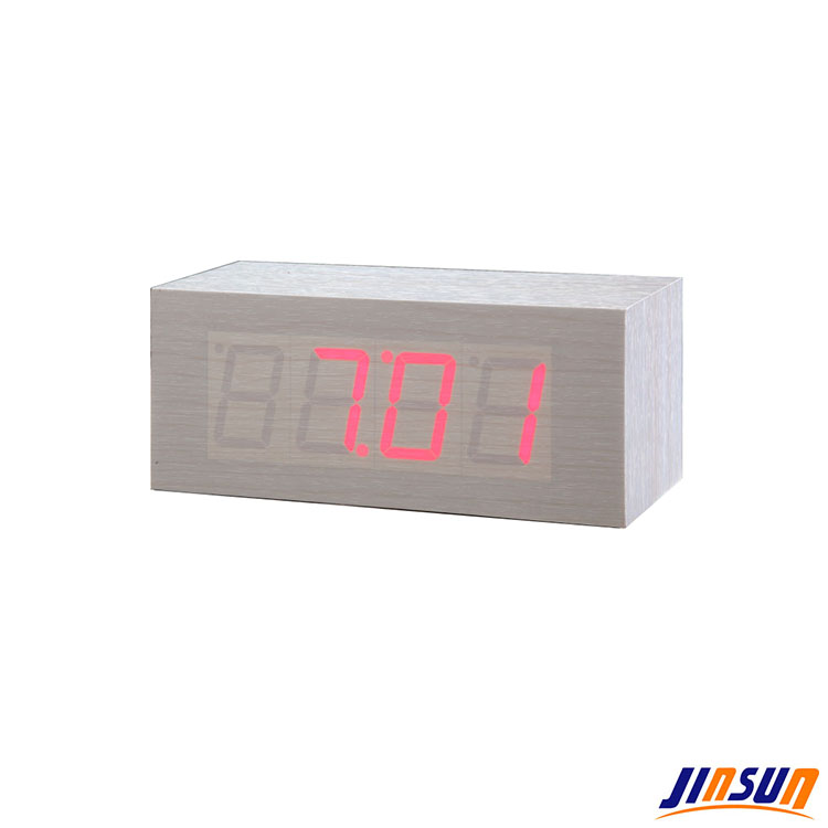 Square Desk Alarm Led Clock Quality