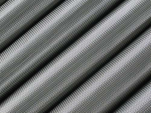 Wire mesh belt for furnace