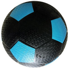 Black Color Blue Panel Rubber Football Sporting