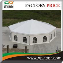 Werbeartikel Outdoor Aluminium Dezagonal Zirkus Party Zelte Durchmesser 15m