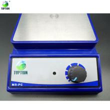 3000Ml, 0-3000rpm Placa magnética de acero inoxidable con Stir Bar en Cosmetic MS-PC