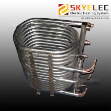 Intercambiador de calor de bobina sumergida de titanio