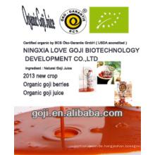 2013 NEU-- Organischer goji Saft