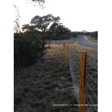 Clôture de cheval pas cher en gros d'Amérique d'alibaba, panneau de barrière de bétail, clôtures de mouton