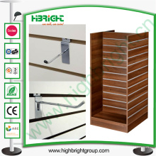 Metalllatte und MDF Display Rack