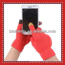 Зимой погода перчатки для сенсорного экрана техник