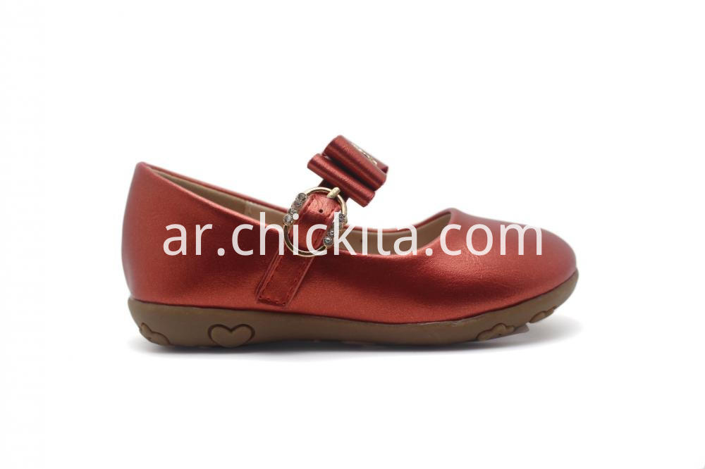 Pearized PU Princess shoe