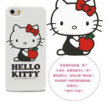 3D caso de silicona para el iPhone 5 Cute Corea estilo para las niñas