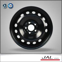 Ruedas de coche negro brillantes de alto rendimiento de acero en 16x6.5
