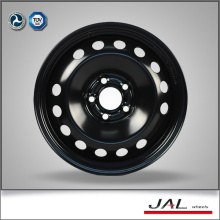 Высококачественные блестящие черные автомобильные диски Steel Rim в 16x6.5