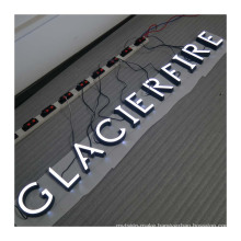 3D Lighting Acrylic Advertising Signs Factory Custom Mini LED Channel Letter Sign Making Acrylic Mini Luminous Letters