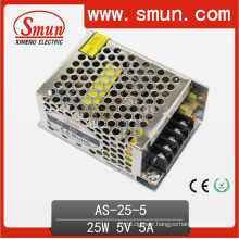 Mini 25W 5VDC 5A Single Output Switching Power Supply