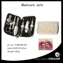 Kit de manucure professionnel pour le visage, ustensiles en gel, ensemble de manucure pour ongles