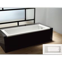 "Cupc 60""X30"", 32"", 66"" Drop-in Acrylic Bathtub Manufacturer with File Flange"