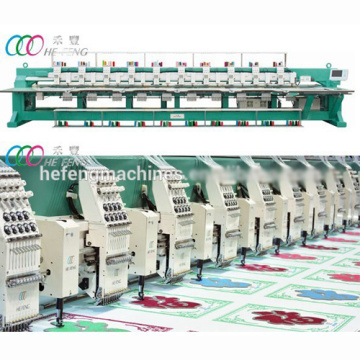 10 Heads Chenille / Chain-stitch Industry Embroidery Machine
