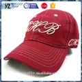 high quality cotton fabric fine embroidery baseball cap