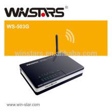 54Mbps 4port drahtloser wifi Fräser, stützt PPPoE / PPTP / L2TP Protokoll für ADSL
