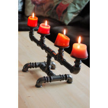 Candlestick candle holder  industrial style