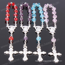 Mixed Colour 4*6mm Tip Crystal Beads Religious Crafts