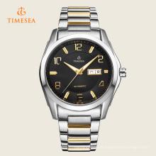 Relógios do negócio dos homens da alta qualidade com os relógios de pulso 72206 da correia de aço