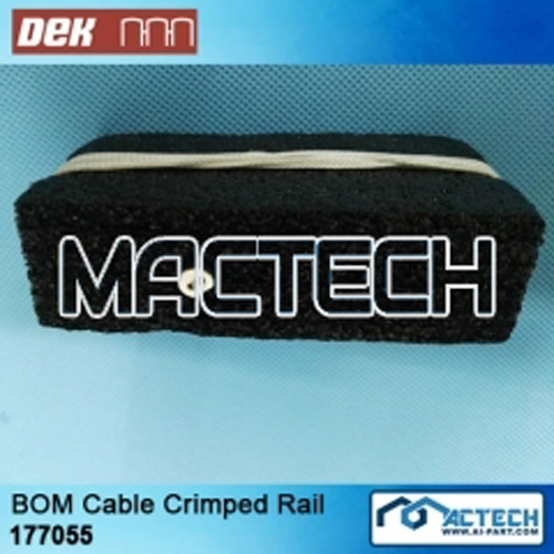 177055, BOM Cable Crimped Rail