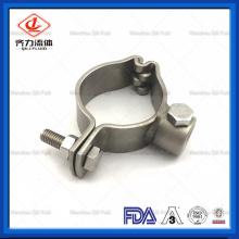 Cabide para tubos de aço inoxidável sanitário