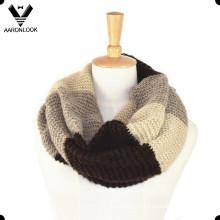 Motif en tricot à rayures en acrylique Moise en unisexe