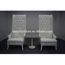 wedding pure white high back chair for sale XYN2264                                                                         Quality Choice