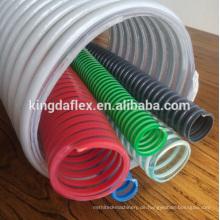 PVC-Spiral-Flexibler Vakuum-Saugschlauch mit großem Durchmesser 8 Zoll