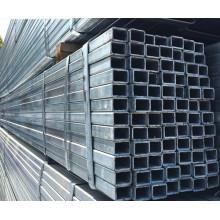 Tuyau en acier galvanisé à effet de serre
