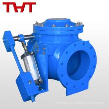 dn150 precio pn16 válvula de retención de tres vías de combustible de no retorno