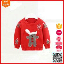 100% cotton fashion customized baby boy wool sweater