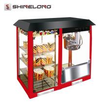 Equipamentos industriais de lanche industrial Máquina automática de pipoca para venda