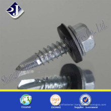 Alibaba Online Shopping Wooden Use Hex Screw With Flange