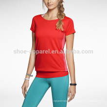 Lado sem costuras leve Womens Training Top