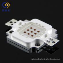 Первоначально фабрики of10W ИК 730nm-940нм высокой мощности LED