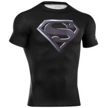 Camisas de treinamento personalizadas de ginástica Sublimated Lycra Rush Guards