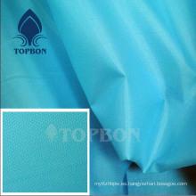 Oxford 420d arruga Stonewashed la tela de nylon con PU / PVC