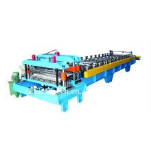Máquina perfiladora de azulejos de acero