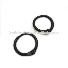 Fashion High Quality Metal Black Binder Ring
